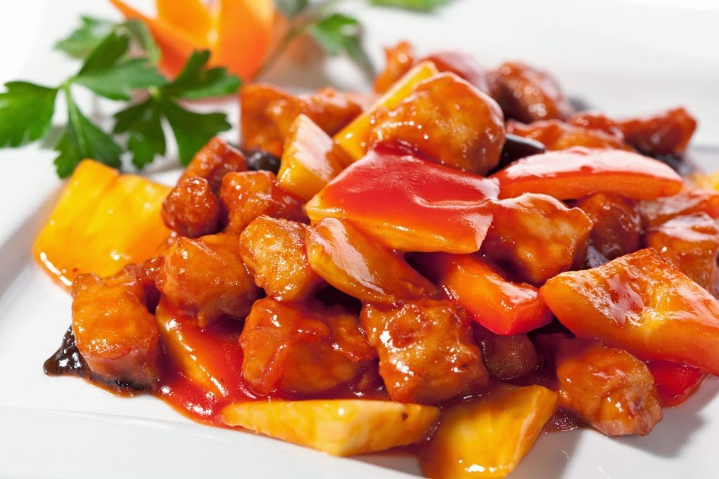 Sweet And Sour Pork Twist Of Food